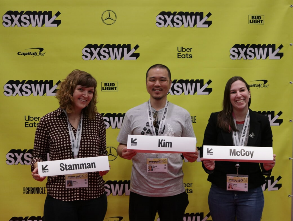 SXSW panel 2019 upgrade your experiential storytelling with D&D
