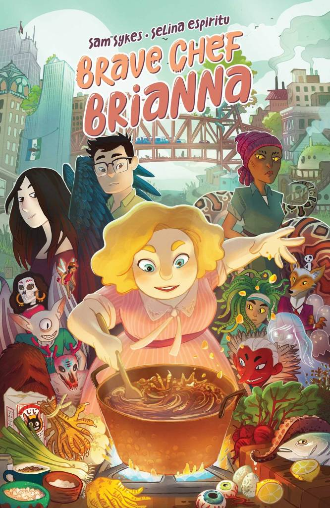 brave chef brianna mental health themes in graphic novels