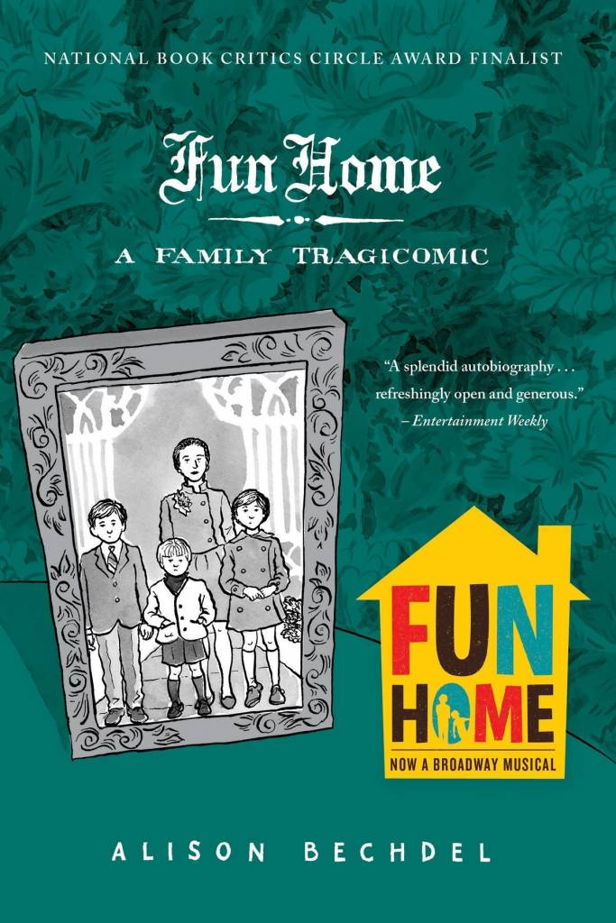 fun home mental health themes in graphic novels