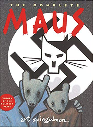 maus mental health themes in graphic novels