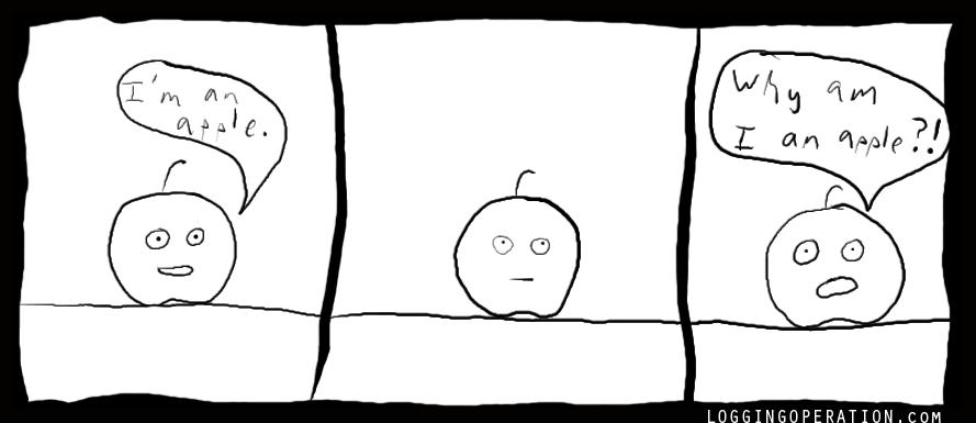 why am I an apple?